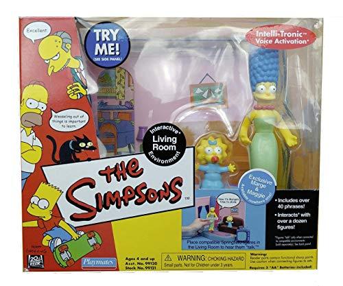Simpsons ' Comic Book Shop  w/ Comic Book Guy MIB