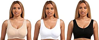 Marielle 3 Pack Bra The Ultimate Comfort Bra Padded (XXXXL - US Size 18-20)