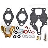 Carburetor Rebuild Repair Kit w/Float For Engine...