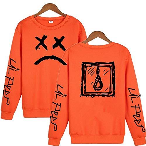 LLYTX Hoodie Lil Peep Herren Damen Kinder Pullover Hoodless Sweater und Fleece Winter Sweater Street Sweatshirt-CYT-6_M