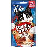 Felix Party Mix Saveur Grillade : Bœuf, Poulet, Saumon - 60 g -...