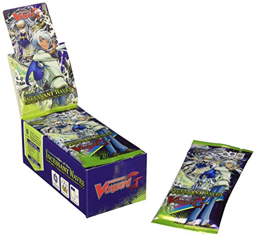 Cardfight Vanguard G Clan Booster Box Commander of The Incessant Waves