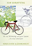 Perleberg Geburtstagskarte Lifestyle - Fahrrad - 11,6 x 16,6 cm, 7510034-2