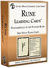 Rune Learning Cards - Living Magick (Self Study Flash Cards) [Cards]