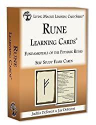 elder futhark rune learning cards