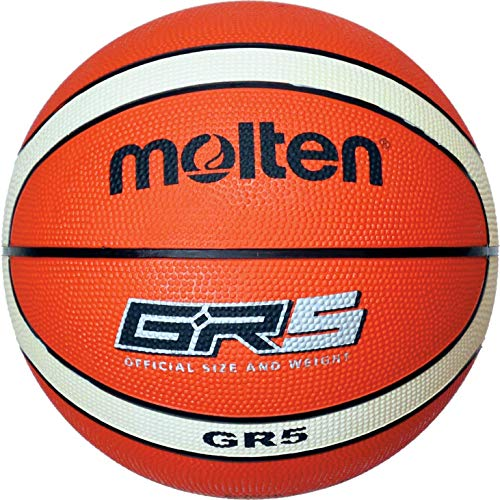 molten Basketball, Orange/Ivory, 5