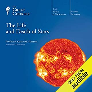 The Life and Death of Stars audiobook cover art