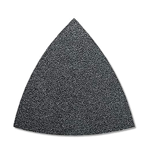 FEIN Schleifblätter | Korn 40 | Schleifdreiecke ungelocht | Inhalt 50 Stück zu Multimaster, Zubehör für Schleifer