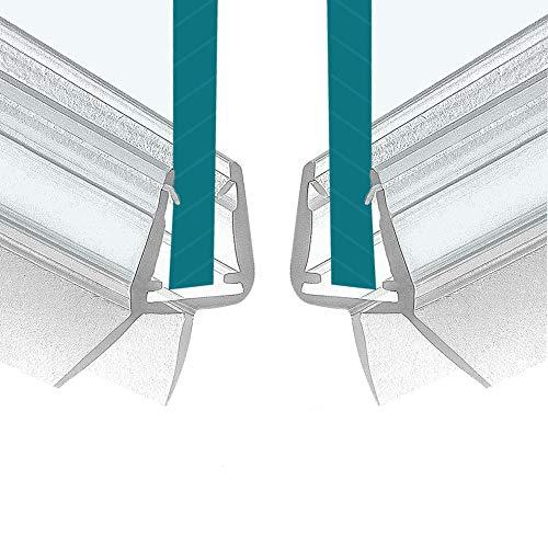2x100cm Ersatzdichtung - Dichtkeder Dichtung für 6mm/ 7mm/ 8mm
