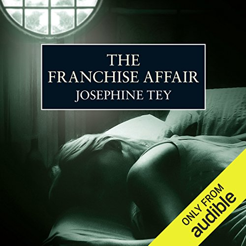 The Franchise Affair audiobook cover art