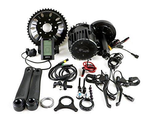bafang BBS03B BBSHD - 48V 1000W Mittelmotor Kit,Tretlagerbreite 100mm für snowbike fatbike