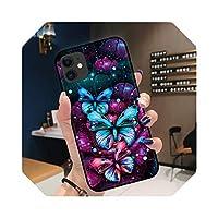 For iPhone用ソフトTPUケースXRX XS Max 6 6S 7 8 Plus 11 11ProMaxシンプルでかわいい柄の電話ケースNEWシェル-110HH090919-For 6Plus 6sPlus