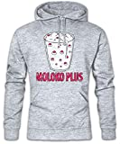 Photo de Urban Backwoods Moloko Plus Hoodie Sweats à Capuche Sweat-Shirt Gris Taille M par