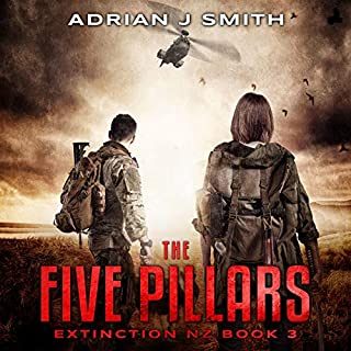The Five Pillars     The Extinction New Zealand Series, Book 3              Written by:                                                                                                                                 Adrian J. Smith                               Narrated by:                                                                                                                                 Raphael Corkhill                      Length: 8 hrs and 21 mins     Not rated yet     Overall 0.0