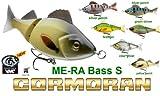 Cormoran team ME-RA bajo S (Swimbait pesca - 11 cm/24 G) silver perch