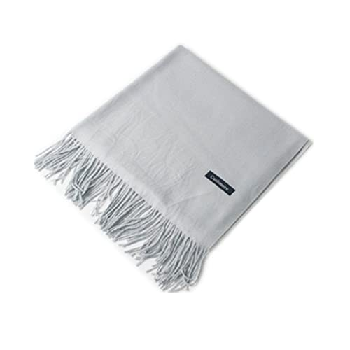 904afa5e5 MMYOMI Women Men Lovers Unisex Smooth Cashmere Scarf Super Soft Plaid Solid  Pashmina Wrap Shawl Scarf