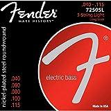Fender 7250-5L Jeu de cordes pour Basse électrique 5 cordes .040-.115 - Light