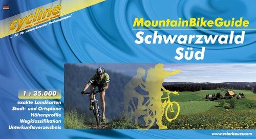 bikeline MountainBikeGuide Naturpark Südschwarzwald 1:35.000, wetterfest, alle Touren herausnehmbar