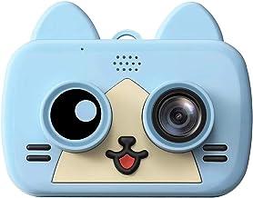 Monland 1200W WiFi CáMara para Ni?Os Gato Lindo CáMara Digital para Ni?Os para Ni?O Bebé Foto Selfie 1080P CáMara Ni?Os Bebé Regalos Azul