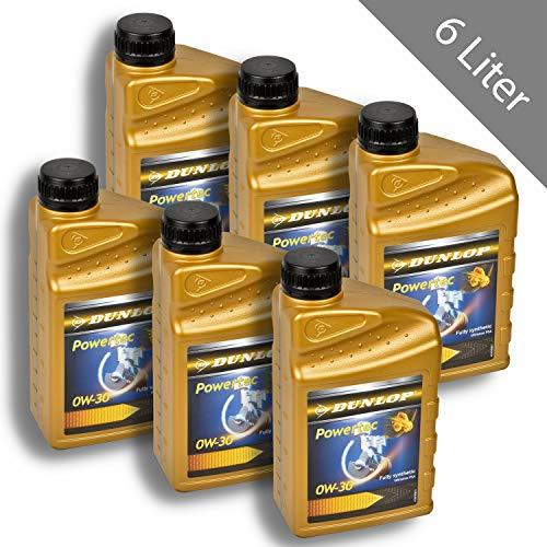 HSM Dunlop 0W30 - Aceite sintético para Motor (2 L)