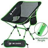 Mechhre Hauteur Réglable Chaise De Camping Pliable Chaise Pliante...