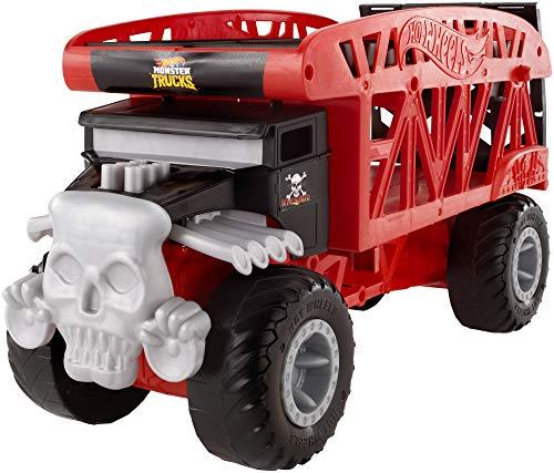Hot Wheels- Monster Truck Mover, Camion Trasportatore, Giocattolo per Bambini 4+ Anni, FYK13