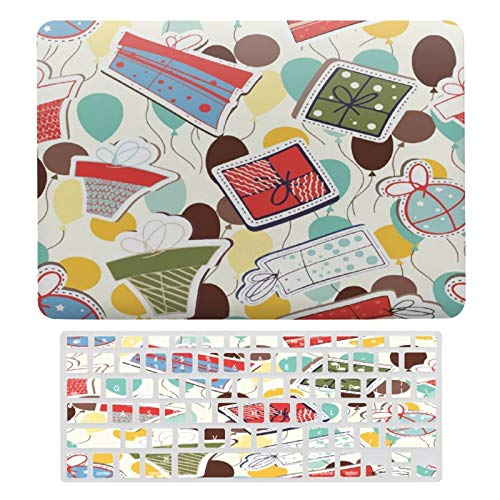 Plastic Hard Shell Case & Keyboard Cover Compatible with MacBook Air 13 inch/MacBook Air Pro 13' (Models: A1369 & A1466/ A2159/A1989/A1706), FXH20200929MEC003Christmas Design