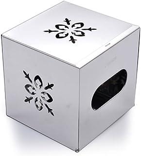 CHenXin Bathroom Tissue Box Stainless Steel Bedroom Living Room Tissue Box Shelf Toilet Tissue Box Hand Carton Paper Roll ...