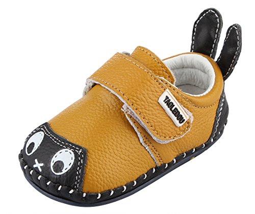 Y-BOA Chaussures Chaussons Motif Lapin Antidérapant Garçon Fille Bébé Premiers Pas Cuir Souple