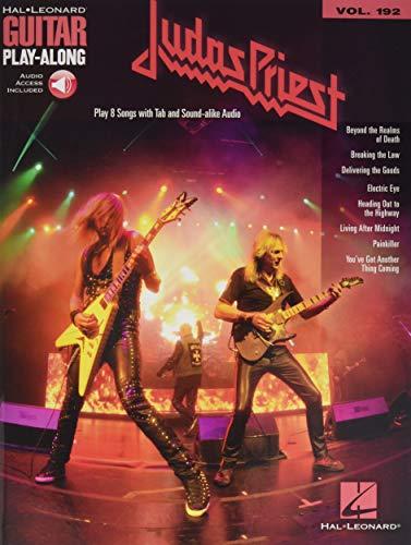 Judas Priest: Guitar Play-Along Volume 192 (Hal-Leonard Guitar Play-Along)