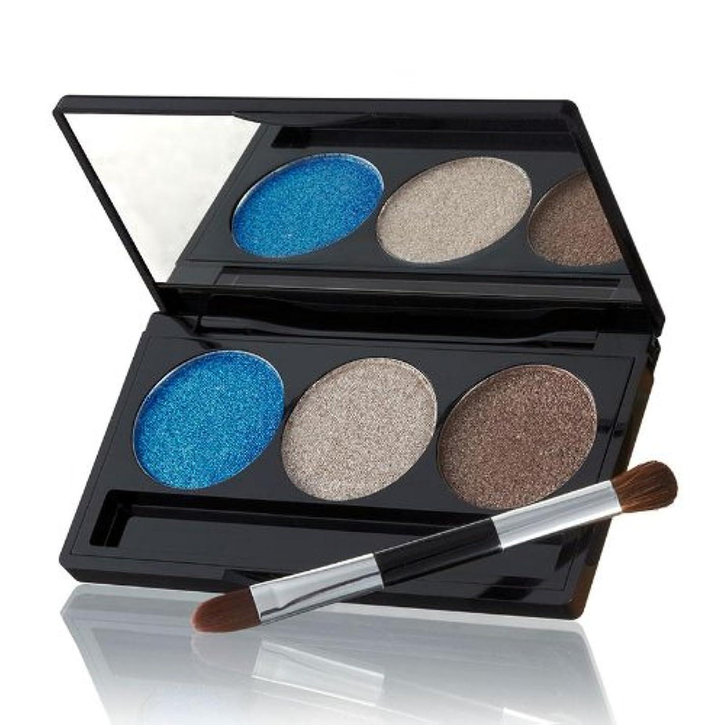 アームストロング決めます誘発するローラ?ゲラー Baked Cream Glaze Trio Eyshadow Palette With Brush - # Sandy Lagoon 3g/0.1oz並行輸入品