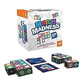 2021 El Juego de Mesa Match Madness más Nuevo para niños, Juego de Mesa Educativo de Pensamiento lógico, Juego de descifrado de código clásico Mastermind, Desarrollo de Inteligencia