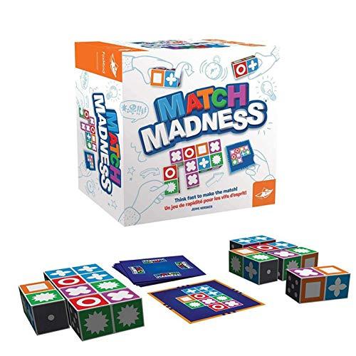 2021 El Juego de Mesa Match Madness más Nuevo para niños, Juego...