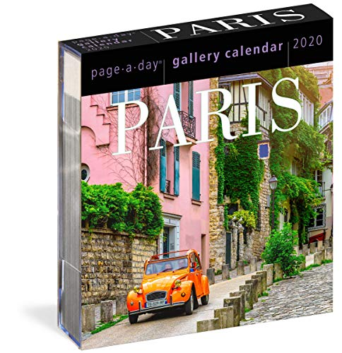 Paris Page-A-Day Gallery Calendar 2020