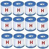 Cartucho de filtro de piscina Intex tipo H # 29007