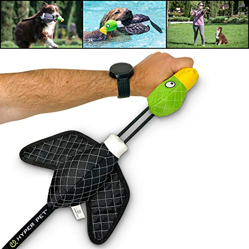 Hyper Pet Flying Duck Slingshot Interactive Dog Toy (High Flying, Bungee Style Interactive Dog Toys that Float) Great Alternative to Dog Ball Launchers, Dog Frisbees, Dog Balls and Dog Tennis Balls
