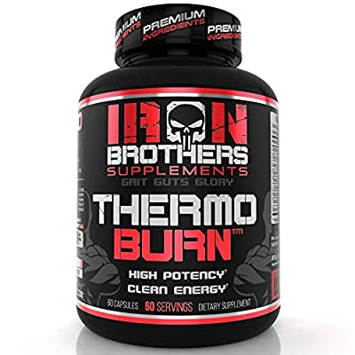 Thermogenic Fat Burners for Men/Women - Strongest Appetite Suppressant for Weight Loss - Metabolism Boosting - Hardcore Carb Blocker and Focus Supplement - Keto Pills - 60 Veggie Capsules