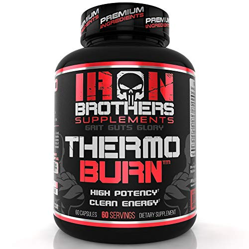 Thermogenic Fat Burners for Men / Women - Strongest Appetite Suppressant for Weight Loss - Metabolism Boosting - Hardcore Carb Blocker and Focus Supplement - Keto Pills - 60 Veggie Capsules