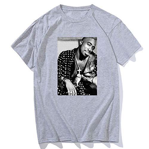Thug Life Tupac 2PAC Hip-hop Rap Rock Mens Men T-shirt Fashion 2019 New Short Sleeve O Neck Cotton Black T-shirt Tee