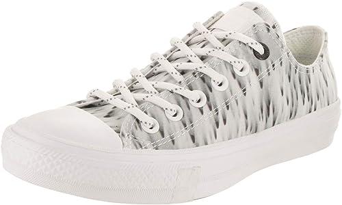 Converse Unisex Chuck Taylor All Star II Buey de zapatos Casual de EE.UU. 6 8 de EE.UU. Unisex-Adulto blanco Reflec 6 D (M) US   8 B (M) US