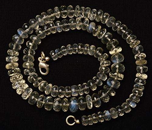 GemAbyss Beads Gemstone Direct sale of manufacturer 1 Strand African List price Moonston Ceylon Natural