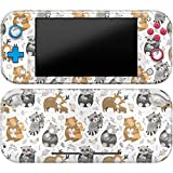 Cavka Vinyl Decal Skin Compatible with Console Switch Lite (2019) Stickers with Design Forest Animals Deer Full Set Wrap Print Panda Adorable Fox Cover Durable Cute Faceplate Tender Racoon Protector
