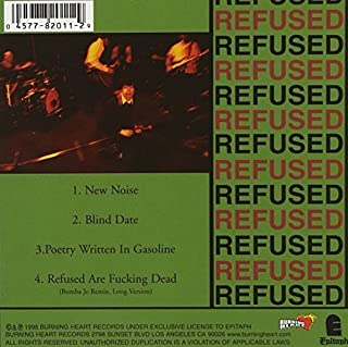 New Noise Theology (EP) by Refused (2000-09-26)