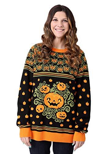 Adult Pumpkin Patch Ugly Halloween Sweater