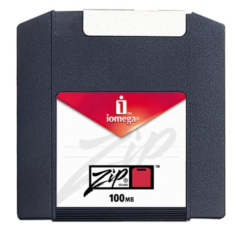Iomega PC Formatted Zip Disks 100 MB (10-Pack) (reformattable for use on a Mac) (Discontinued by Manufacturer)