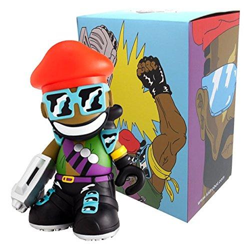 Kidrobot - Figurine 18cm / 7inch Mascot Major Lazer Music Design Figure Mascotte
