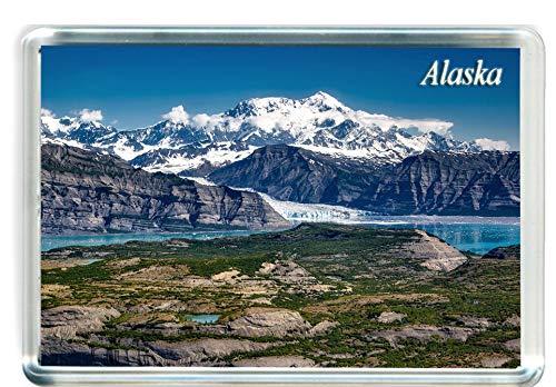 I099 Alaska Imán para Nevera Alaska Travel Fridge Magnet