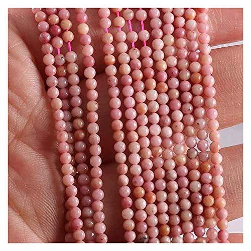 Joyas para Mujeres Cuentas de Piedra Natural Rose Quartze amatistas Agates los Granos para la joyería Que Hace Fajas Bricolaje Pulsera Al Menos Comprar Cinco Collar de Cuentas de Arte.
