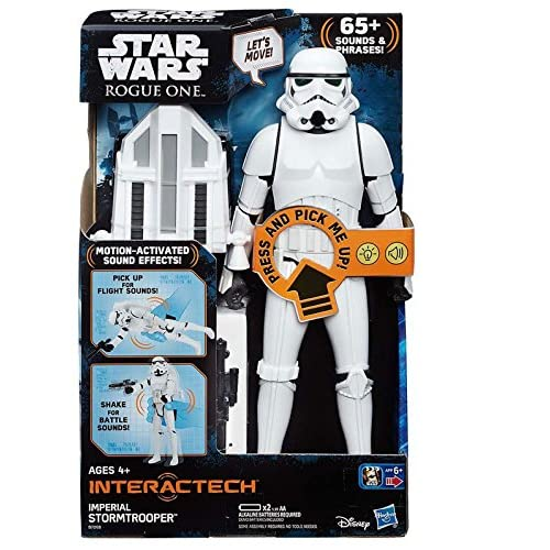 Star Wars Rogue One Figura interactiva, 30 cm (Hasbro B7098105)