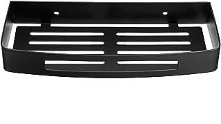 Étagère de douche , étagère de rangement, acier inoxydable noir Étagère de rangement d'angle de rangement pour salle de ba...